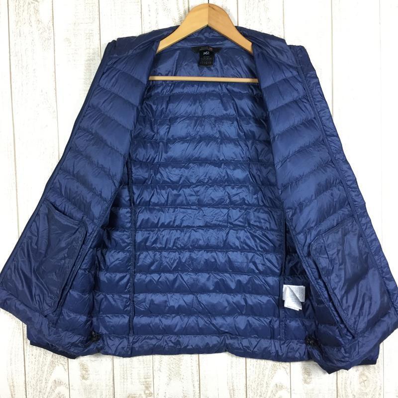 【WOMEN's L】ミレー ライト ダウン ジャケット MILLET MIV01185 ネイビー系 2ndgear-outdoor 04