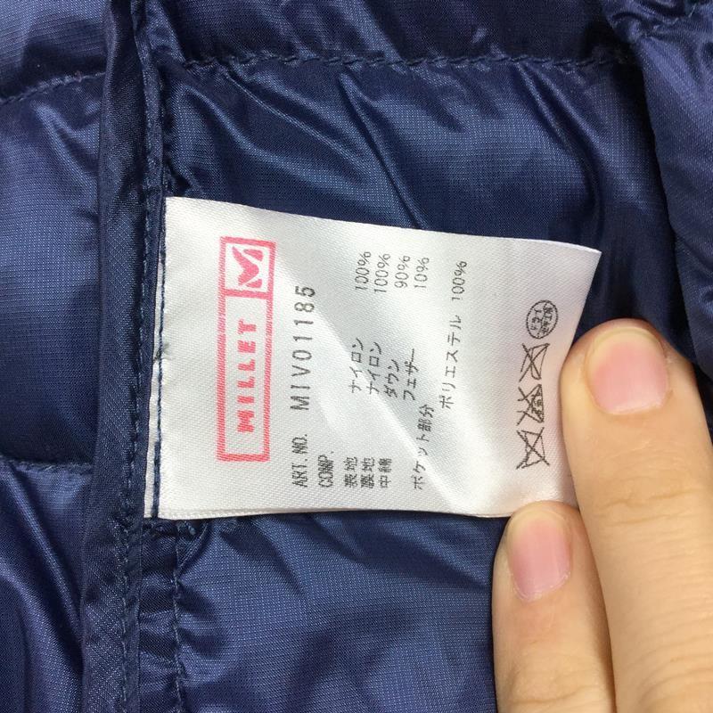 【WOMEN's L】ミレー ライト ダウン ジャケット MILLET MIV01185 ネイビー系 2ndgear-outdoor 05