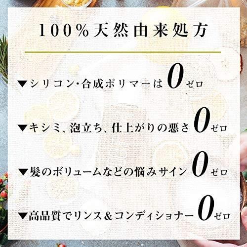 haru(ハル) 100% 天然由来シャンプー haru kurokamiスカルプ (ノンシリコン、アミノ酸系)(リンス・コンディショナー不要) 柑橘|2t-shop|02