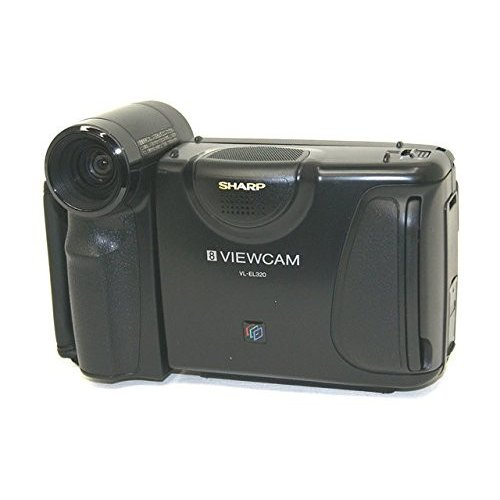 SHARP シャープ VL-EL320 液晶ビューカム 8ミリビデオカメラ スタンダ ...
