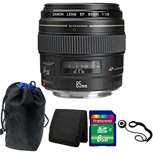 売り切れ必至! Canon EF 85mm f Canon/1.8 USM AutoFocus f/1.8 望遠レンズ 85mm アクセサリー付き, インテリア雑貨rodcontrol:1feb48b6 --- grafis.com.tr