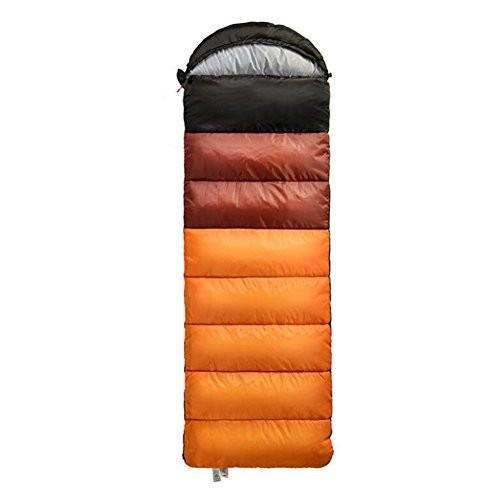 寝袋 - 封筒軽量ポータブル、防水、コンプレッションサック付き快適 - 4シ