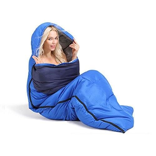 寝袋エクスプローラーアダルト屋外寝袋キャンプ封筒タイプ寝袋厚いキャンプ