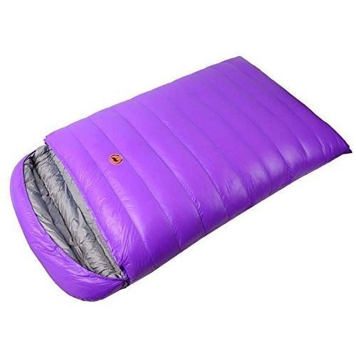(新品未使用)Obert Double People封筒Sleepingバッグ1800?gホワイトDuck Down防水キャン
