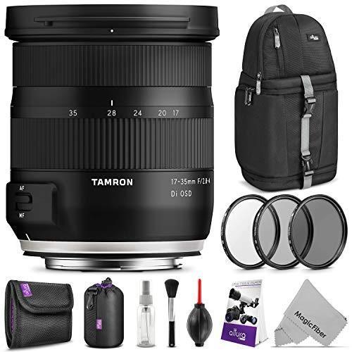 魅了 (新品未使用)Tamron F用 17-35mm f 17-35mm/2.8-4 DI DI OSDレンズ Nikon F用 高度な写真と旅行バンドル, オオガキシ:dc109480 --- grafis.com.tr