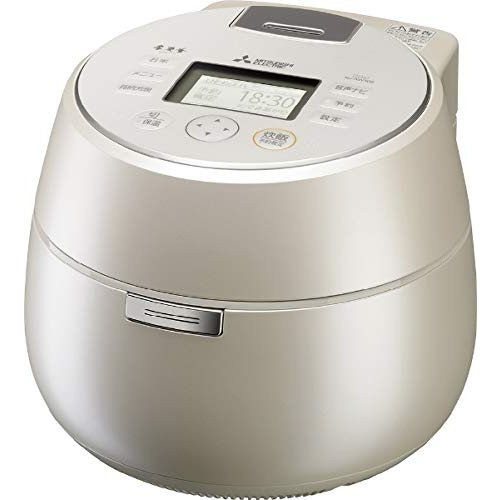 (新品未使用)三菱 IHジャー炊飯器(5.5合炊き) 白和三盆MITSUBISHI 本炭釜 KAMADO N|3-sense