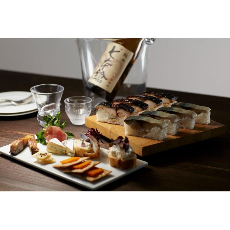 送料無料 おうちごはん ギフト さば寿司お取り寄せ 三太郎の極上鯖寿司、極上焼き鯖寿司セット 3-toku