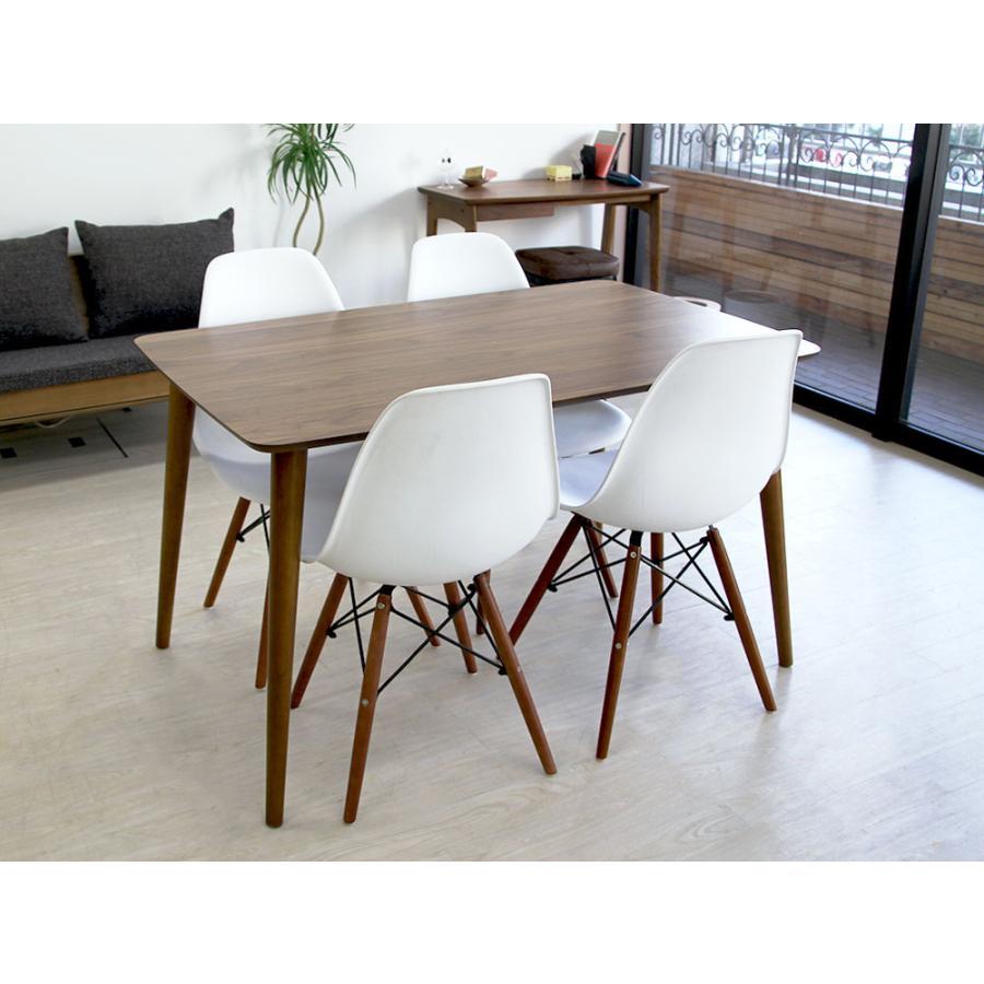 イームズチェア シェルチェア ウッドベース 椅子 イス DSW eames ブラウン木脚 リプロダクト ダイニングチェア MTS-032(BR)|3244p|13
