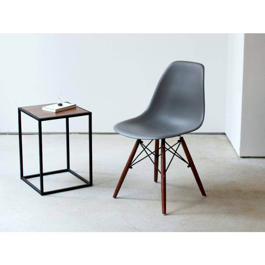 イームズチェア シェルチェア ウッドベース 椅子 イス DSW eames ブラウン木脚 リプロダクト ダイニングチェア MTS-032(BR)|3244p|04