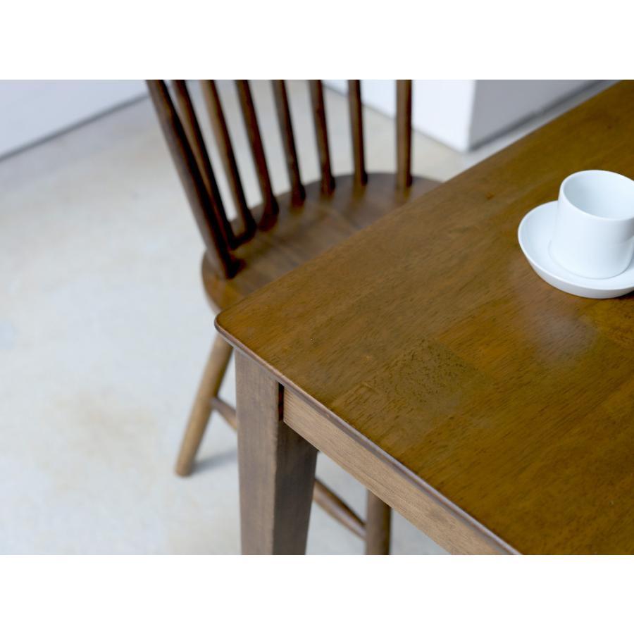 ダイニングテーブル 木製 W120×D75(cm) 2〜4名用 長方形 ナチュラル ブラウン MTS-060|3244p|18