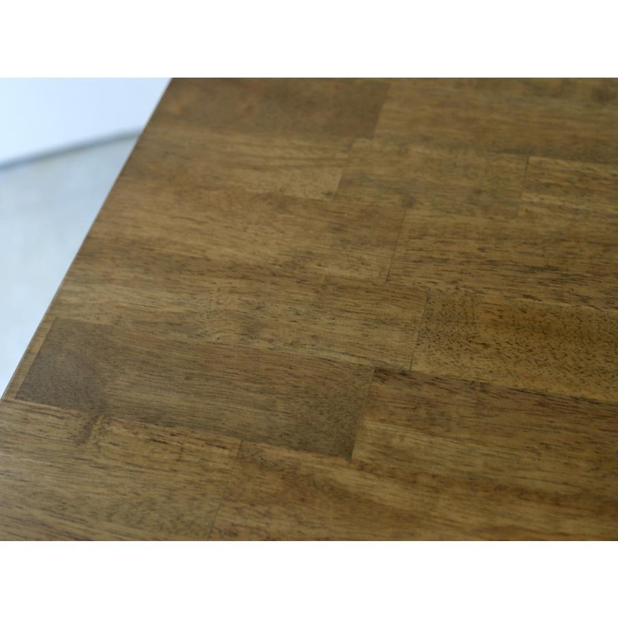ダイニングテーブル 木製 W120×D75(cm) 2〜4名用 長方形 ナチュラル ブラウン MTS-060|3244p|19