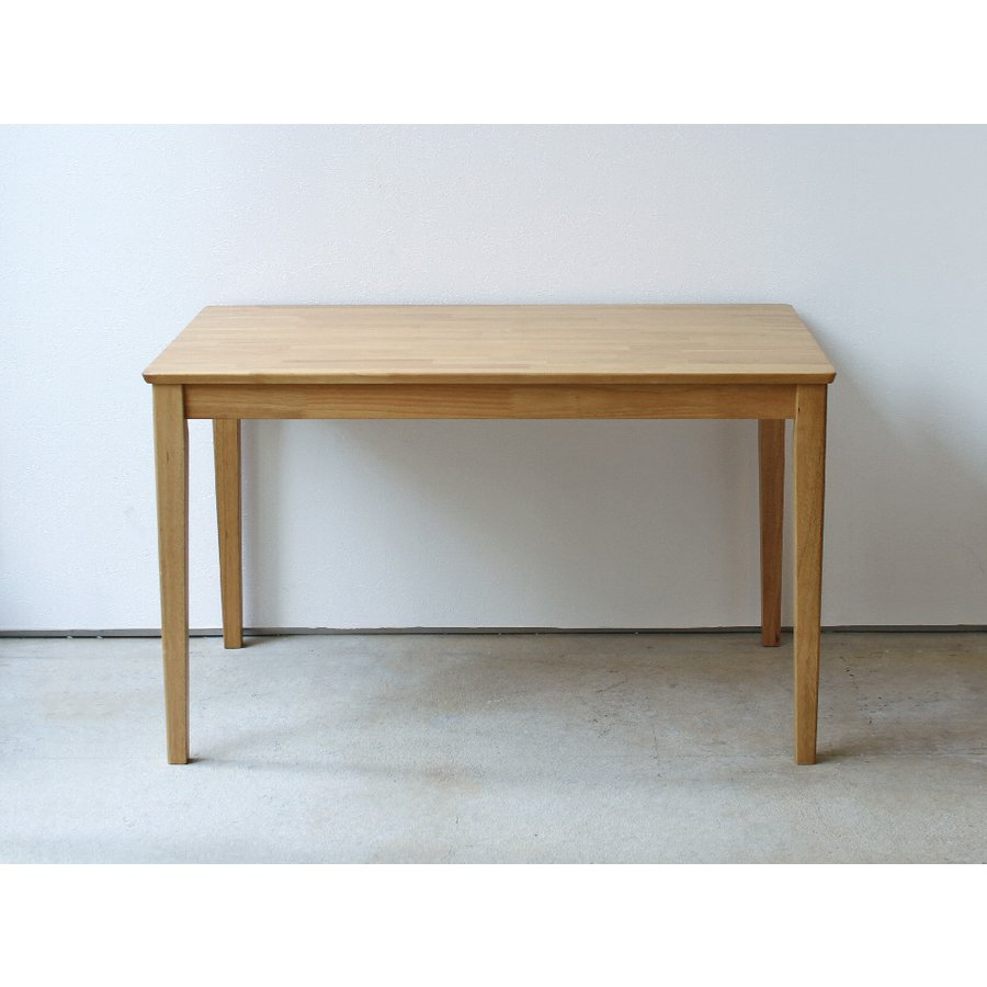 ダイニングテーブル 木製 W120×D75(cm) 2〜4名用 長方形 ナチュラル ブラウン MTS-060|3244p|03