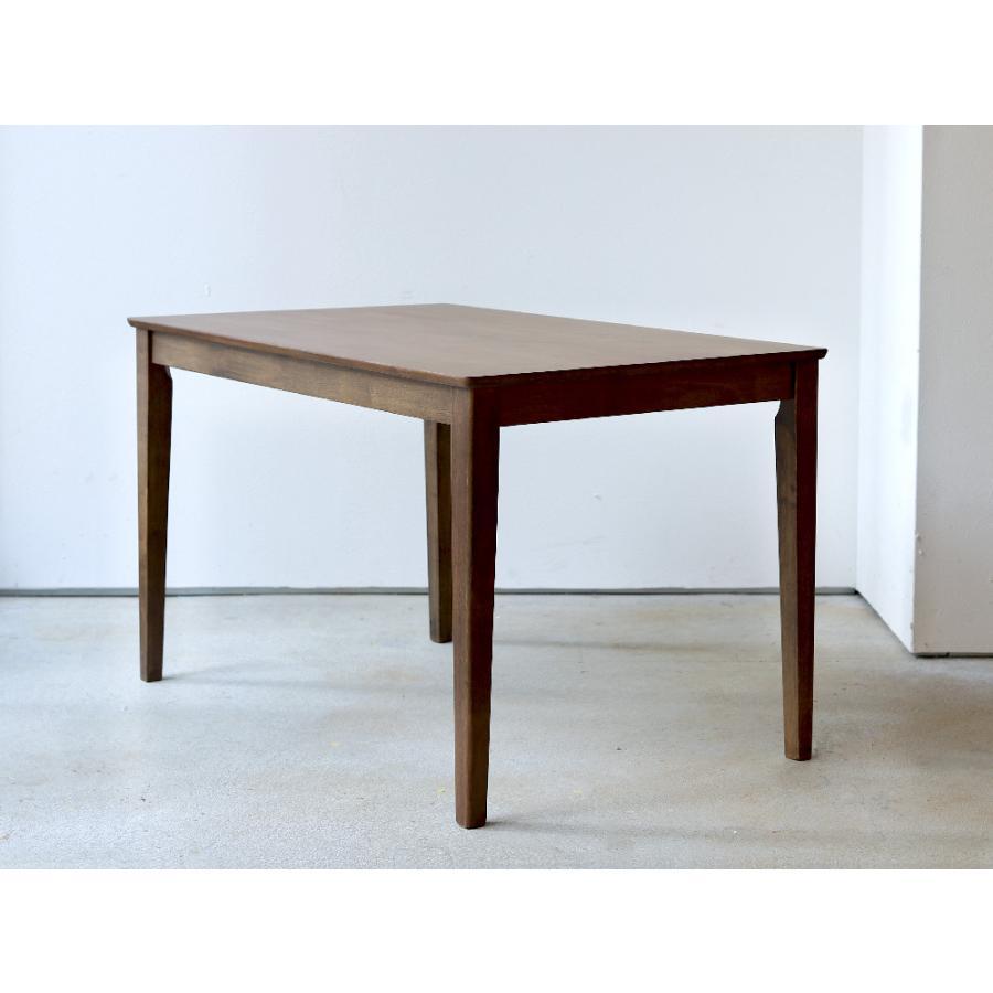 ダイニングテーブル 木製 W120×D75(cm) 2〜4名用 長方形 ナチュラル ブラウン MTS-060|3244p|05
