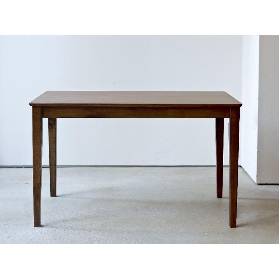 ダイニングテーブル 木製 W120×D75(cm) 2〜4名用 長方形 ナチュラル ブラウン MTS-060|3244p|06