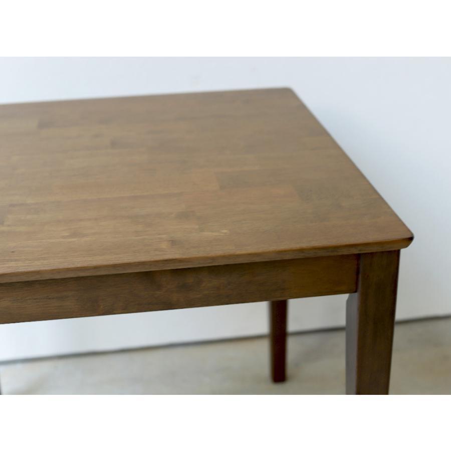 ダイニングテーブル 木製 W120×D75(cm) 2〜4名用 長方形 ナチュラル ブラウン MTS-060|3244p|07
