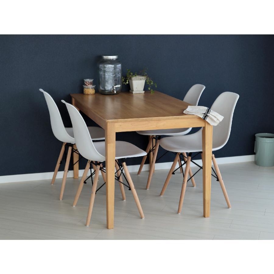 ダイニングテーブル 木製 W120×D75(cm) 2〜4名用 長方形 ナチュラル ブラウン MTS-060|3244p|08