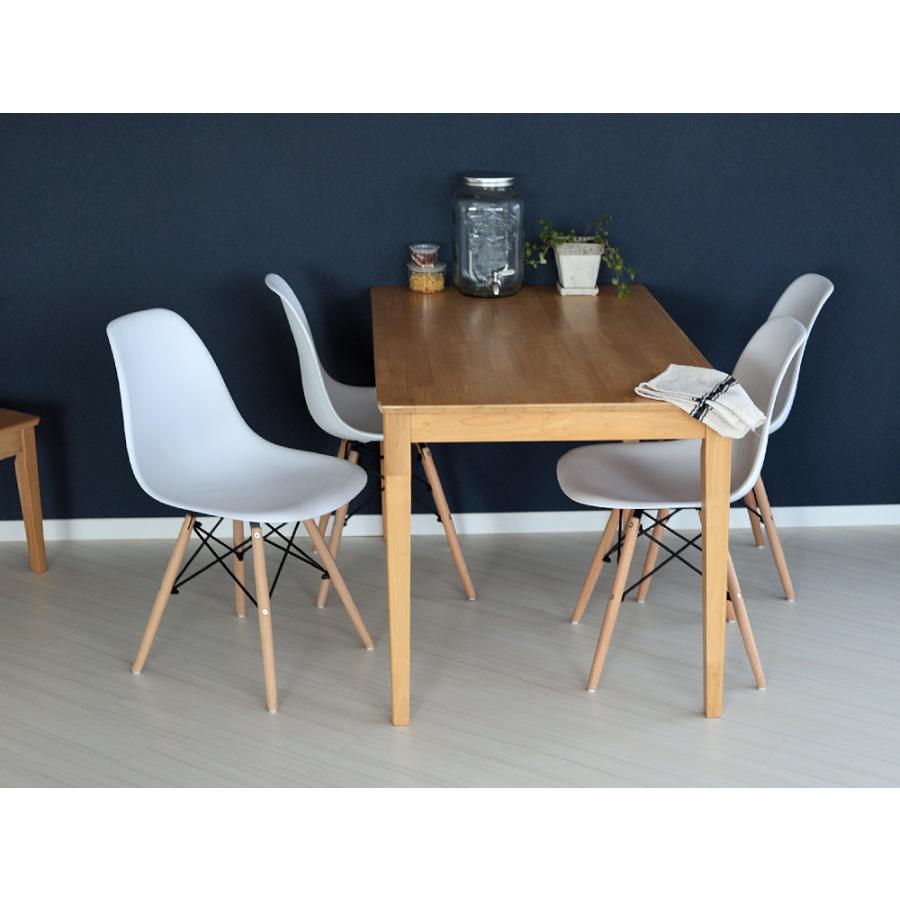 ダイニングテーブル 木製 W120×D75(cm) 2〜4名用 長方形 ナチュラル ブラウン MTS-060|3244p|09