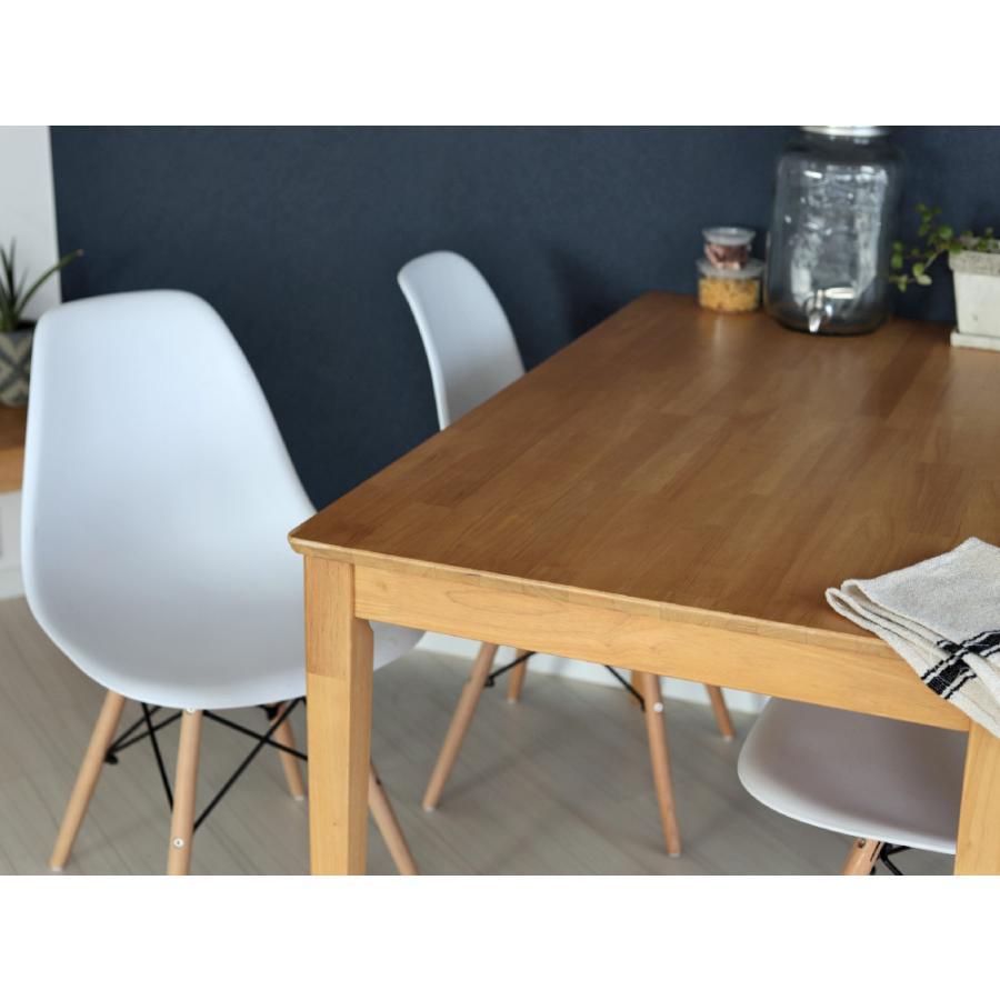 ダイニングテーブル 木製 W120×D75(cm) 2〜4名用 長方形 ナチュラル ブラウン MTS-060|3244p|10