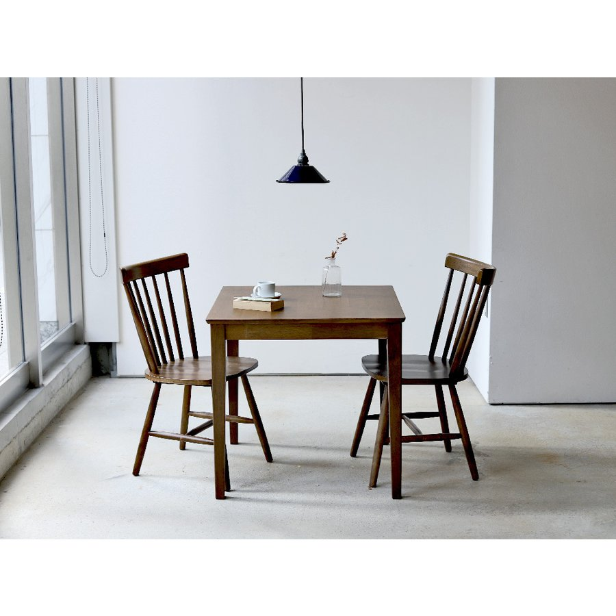 ダイニングテーブル 木製 W75×D75(cm) 2名用 正方形 ナチュラル ウォールナット MTS-063|3244p|13
