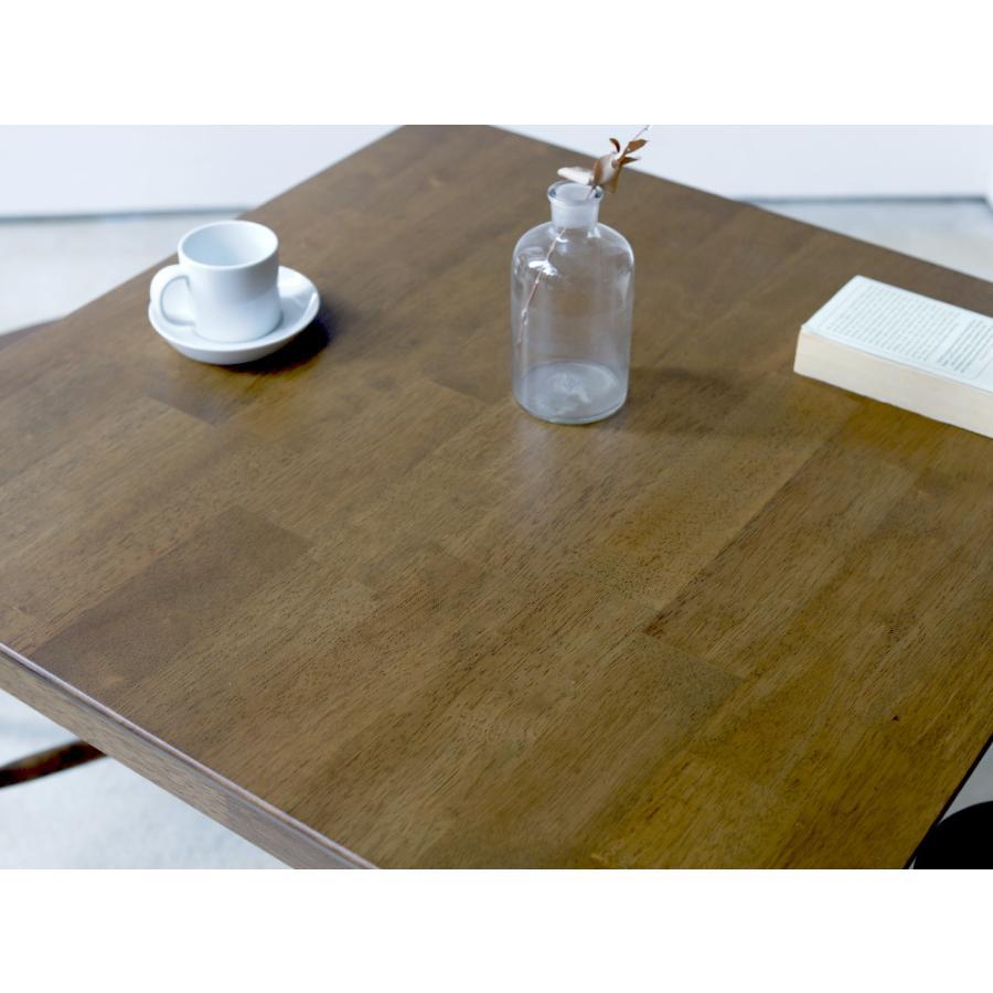ダイニングテーブル 木製 W75×D75(cm) 2名用 正方形 ナチュラル ウォールナット MTS-063|3244p|14
