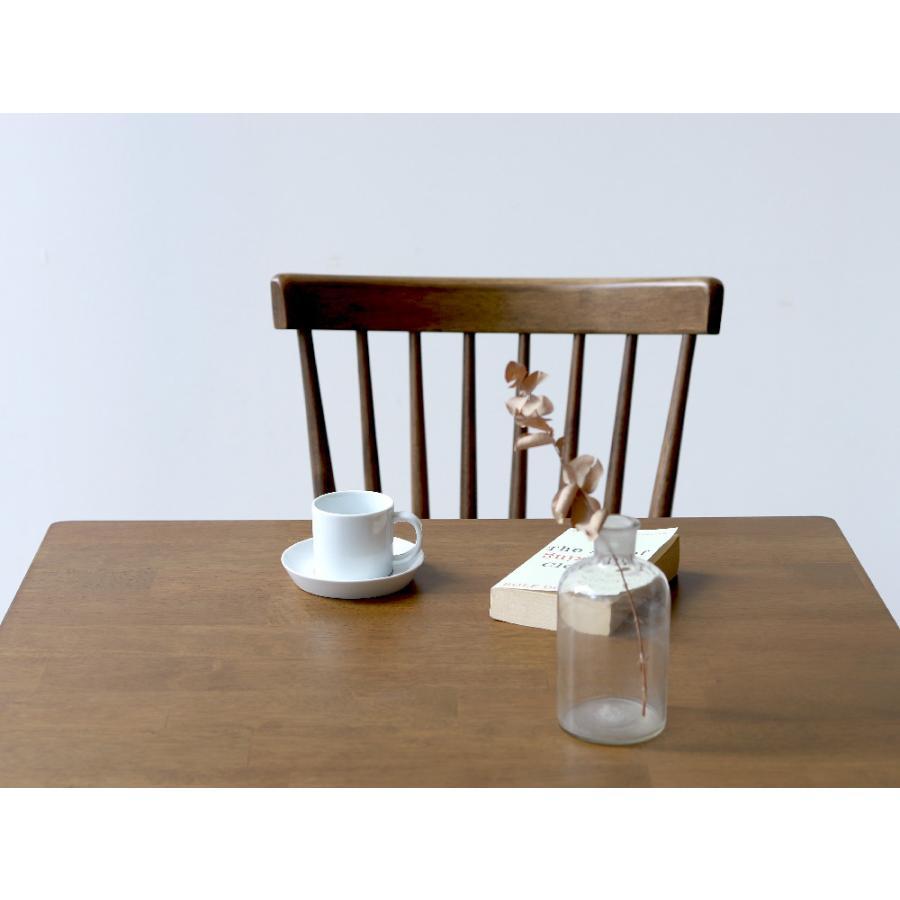 ダイニングテーブル 木製 W75×D75(cm) 2名用 正方形 ナチュラル ウォールナット MTS-063|3244p|15