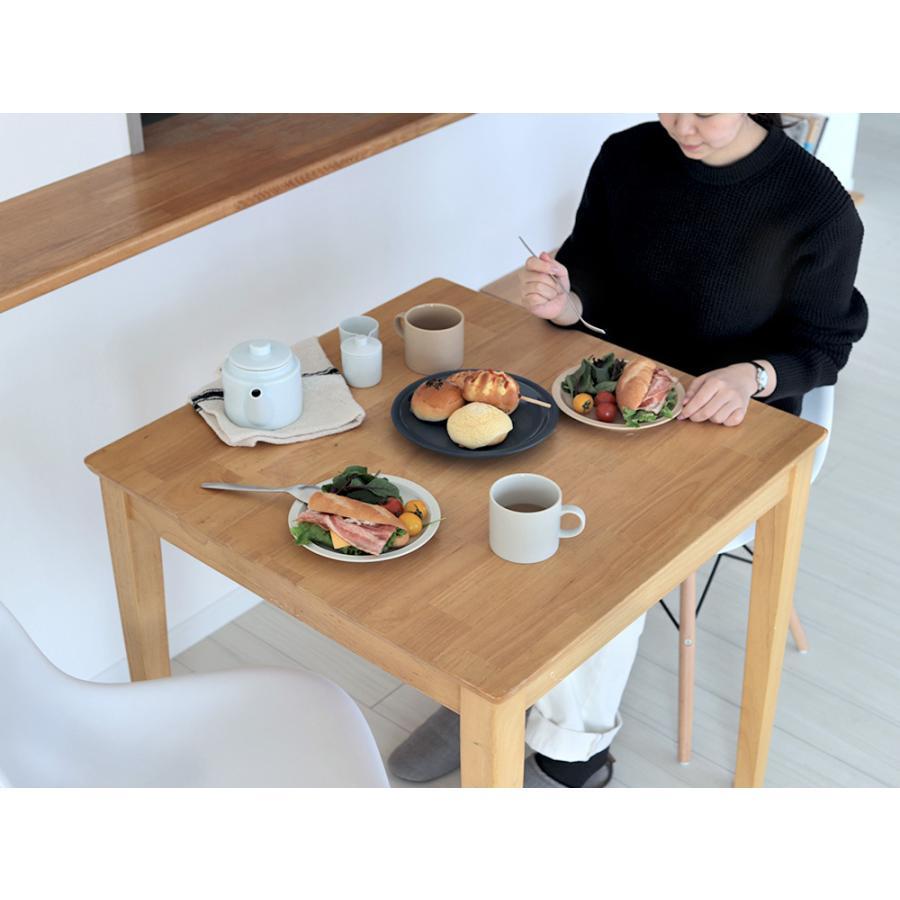 ダイニングテーブル 木製 W75×D75(cm) 2名用 正方形 ナチュラル ウォールナット MTS-063|3244p|19