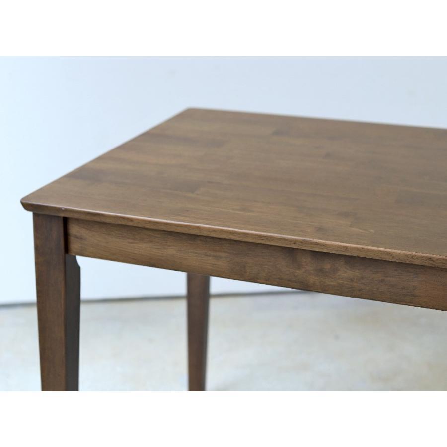 ダイニングテーブル 木製 W75×D75(cm) 2名用 正方形 ナチュラル ウォールナット MTS-063|3244p|04