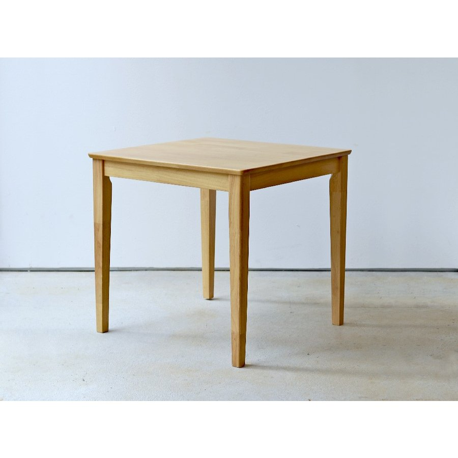 ダイニングテーブル 木製 W75×D75(cm) 2名用 正方形 ナチュラル ウォールナット MTS-063|3244p|07