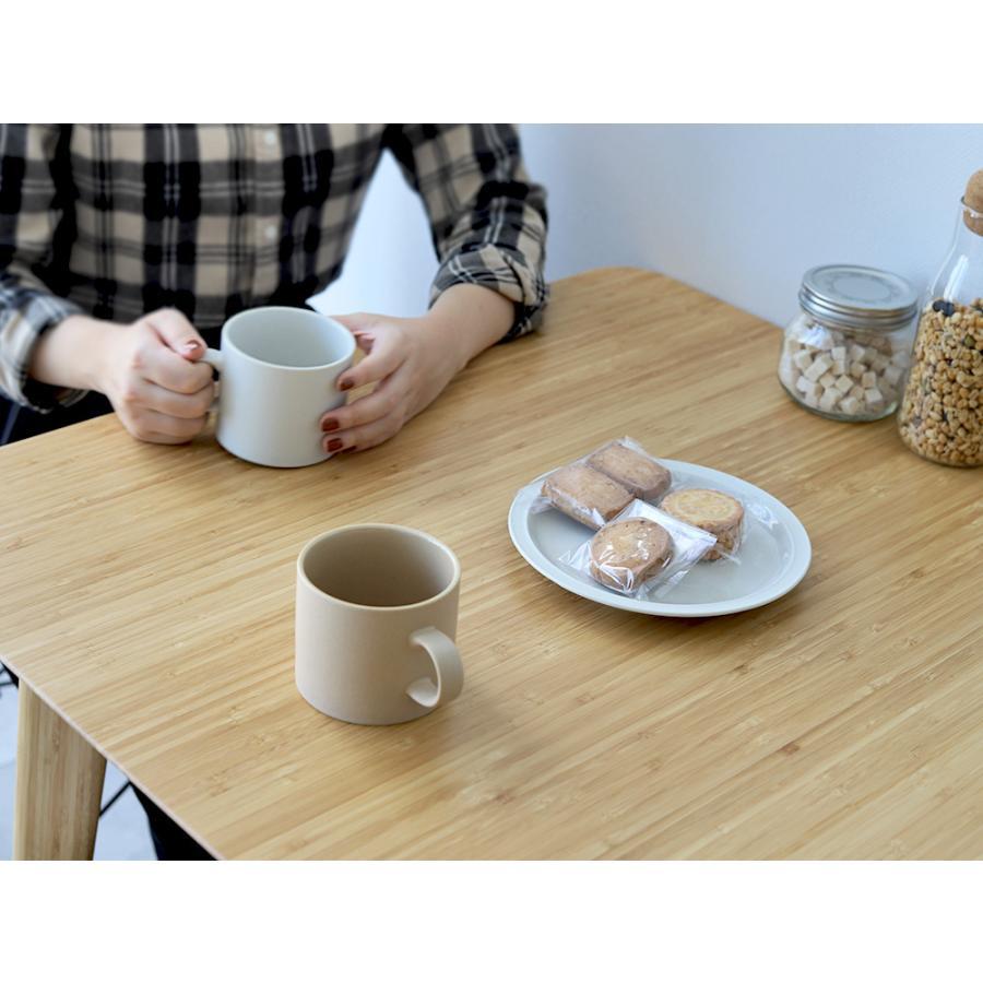 ダイニングテーブル 竹製 バンブー W75×D75(cm) 正方形 2名用 ナチュラル シンプル MTS-085|3244p|20