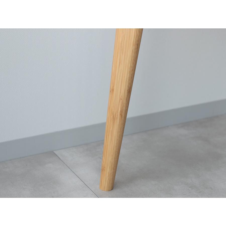 ダイニングテーブル 竹製 バンブー W75×D75(cm) 正方形 2名用 ナチュラル シンプル MTS-085|3244p|04