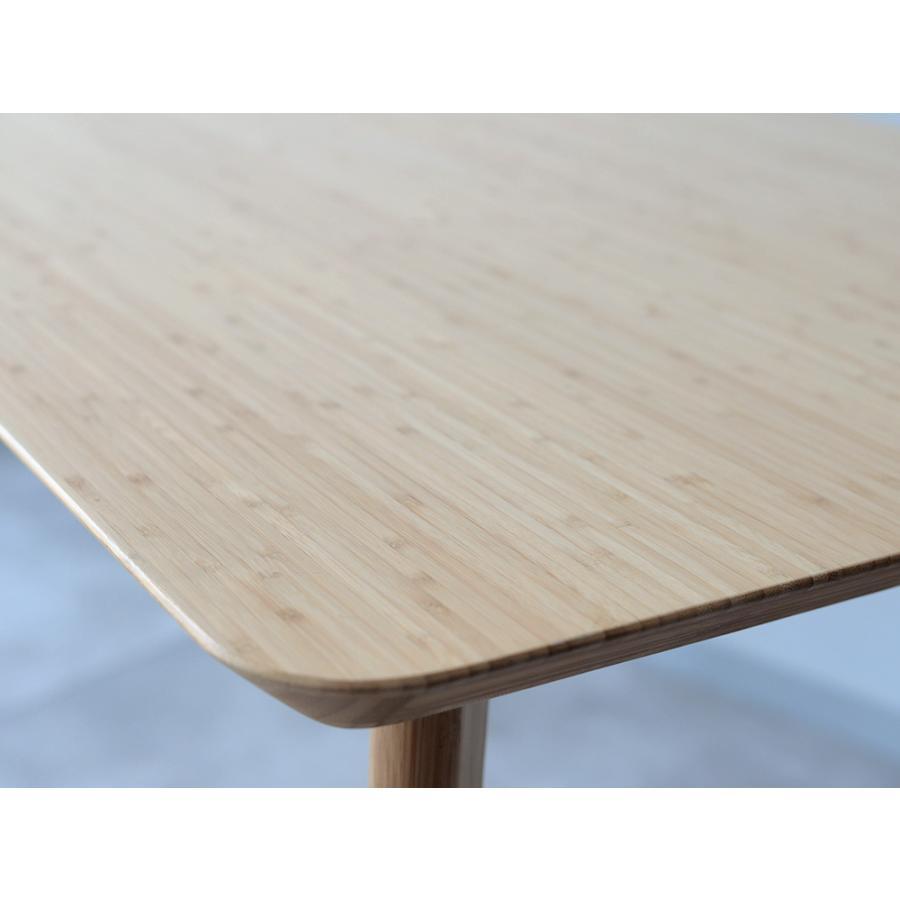 ダイニングテーブル 竹製 バンブー W75×D75(cm) 正方形 2名用 ナチュラル シンプル MTS-085|3244p|07
