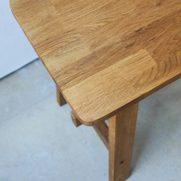 ダイニングベンチ OAK 木製 W100×D29×H45(cm) MTS-090 3244p 04