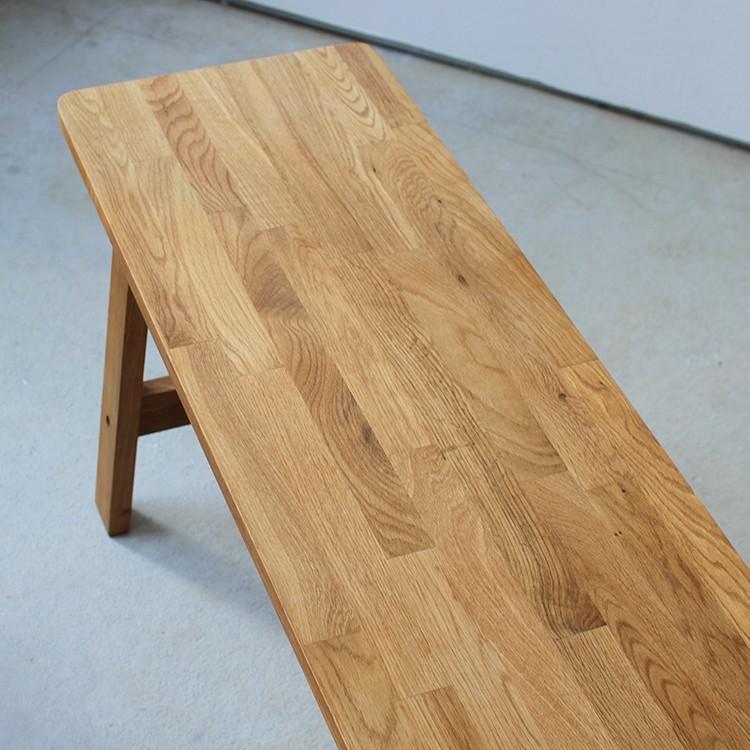 ダイニングベンチ OAK 木製 W100×D29×H45(cm) MTS-090 3244p 05