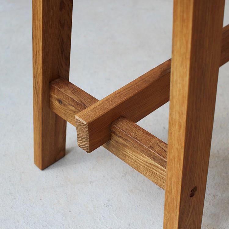ダイニングベンチ OAK 木製 W100×D29×H45(cm) MTS-090 3244p 06