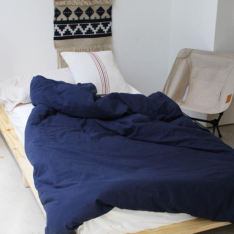ベッドフレーム ベッド シングル W100 無垢材(パイン材) ヘッドレス すのこベッド 北欧 シンプル ナチュラル MTS-097|3244p|15