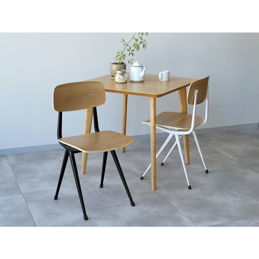 リザルトチェア リプロダクト 椅子 イス RESULT chair ダイニングチェア 完成品 ホワイト ブラック カーキ MTS-104|3244p|02