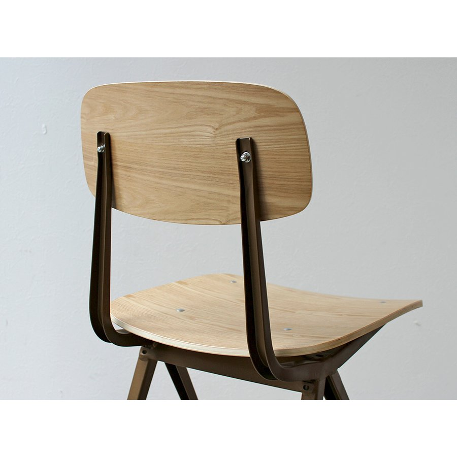 リザルトチェア リプロダクト 椅子 イス RESULT chair ダイニングチェア 完成品 ホワイト ブラック カーキ MTS-104|3244p|18