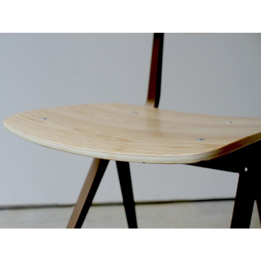 リザルトチェア リプロダクト 椅子 イス RESULT chair ダイニングチェア 完成品 ホワイト ブラック カーキ MTS-104|3244p|19