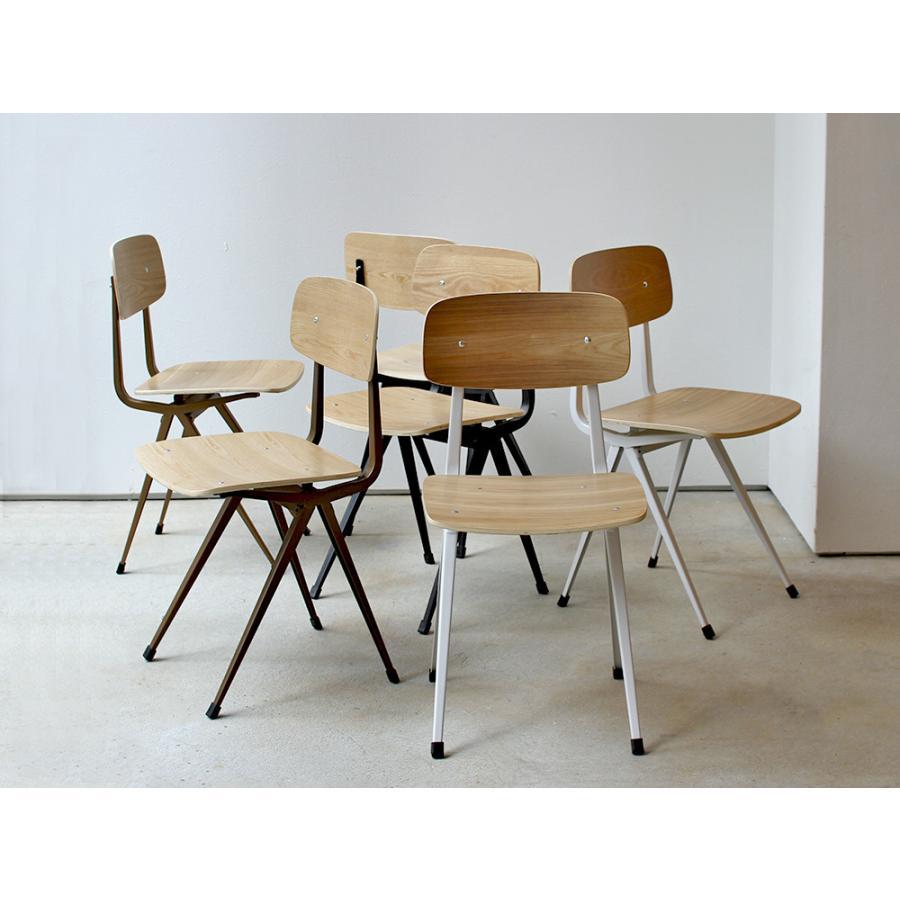 リザルトチェア リプロダクト 椅子 イス RESULT chair ダイニングチェア 完成品 ホワイト ブラック カーキ MTS-104|3244p|21