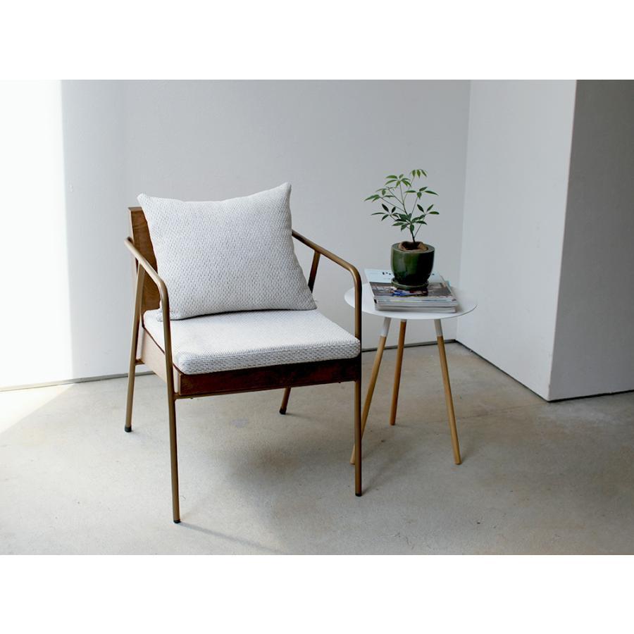 椅子 イス チェア パーソナルチェア ソファ ダイニングチェア 完成品 1P ホワイト|3244p|18
