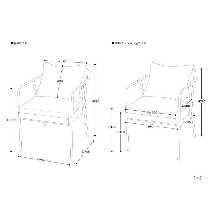 椅子 イス チェア パーソナルチェア ソファ ダイニングチェア 完成品 1P ホワイト|3244p|21