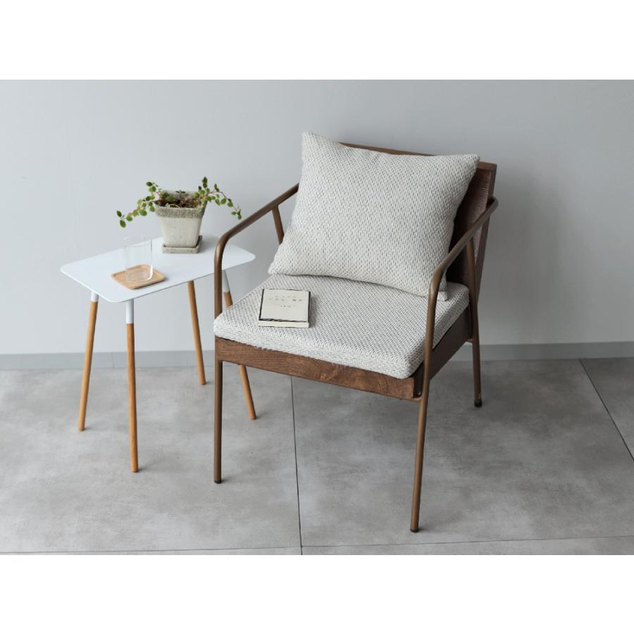 椅子 イス チェア パーソナルチェア ソファ ダイニングチェア 完成品 1P ホワイト|3244p|05
