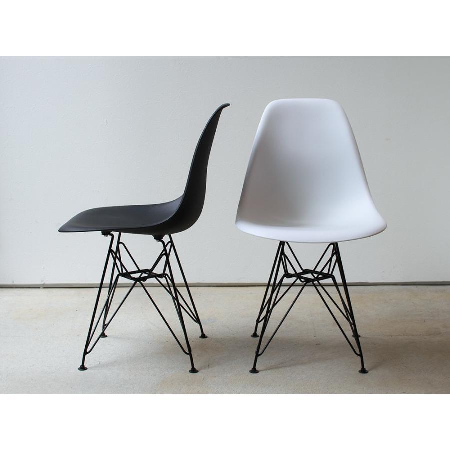 イームズ シェルチェア 椅子 エッフェルベース ブラック脚 MTS-108 ダイニングチェア DSR eames スチール リプロダクト アウトレットセール|3244p|03