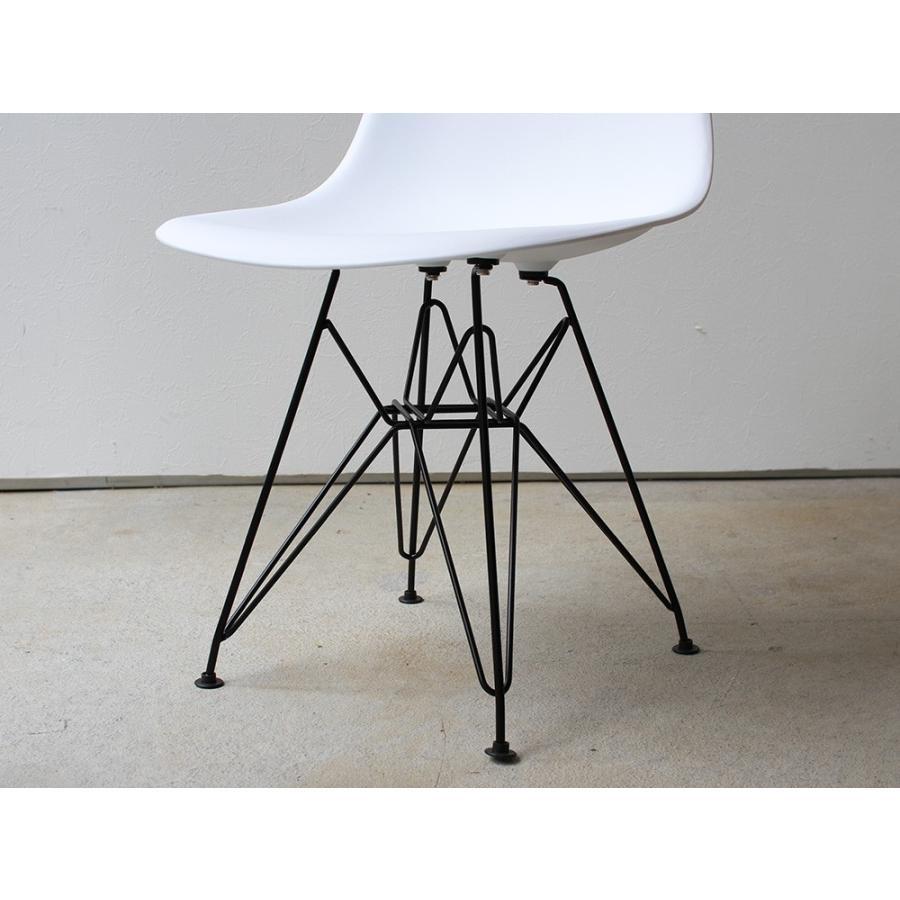 イームズ シェルチェア 椅子 エッフェルベース ブラック脚 MTS-108 ダイニングチェア DSR eames スチール リプロダクト アウトレットセール|3244p|21