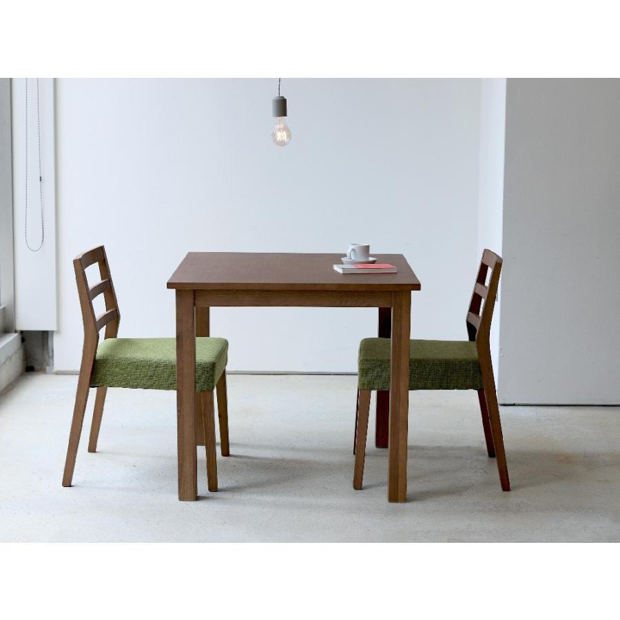 ダイニングテーブル アウトレット セール W800 80cm 2名用 ナチュラル ウォールナット アッシュ 木製 novo series ノヴォシリーズ|3244p|12
