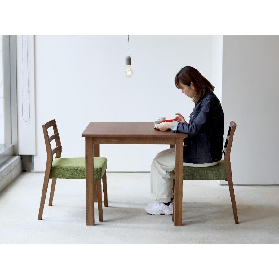 ダイニングテーブル アウトレット セール W800 80cm 2名用 ナチュラル ウォールナット アッシュ 木製 novo series ノヴォシリーズ|3244p|13