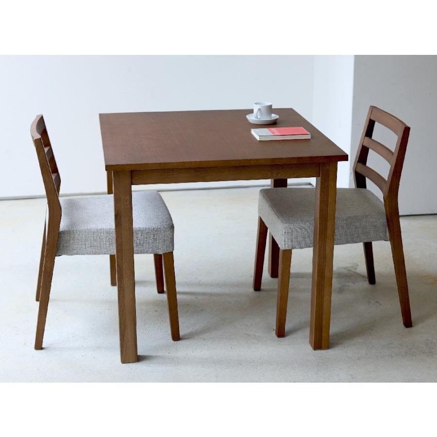 ダイニングテーブル アウトレット セール W800 80cm 2名用 ナチュラル ウォールナット アッシュ 木製 novo series ノヴォシリーズ|3244p|16