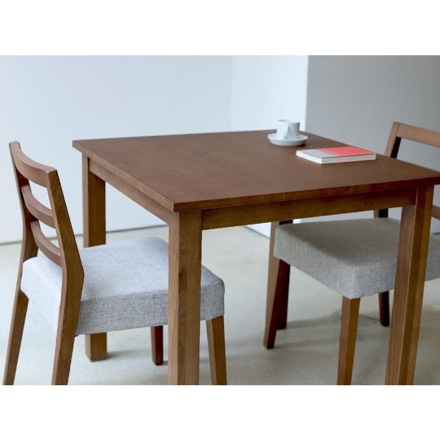 ダイニングテーブル アウトレット セール W800 80cm 2名用 ナチュラル ウォールナット アッシュ 木製 novo series ノヴォシリーズ|3244p|17