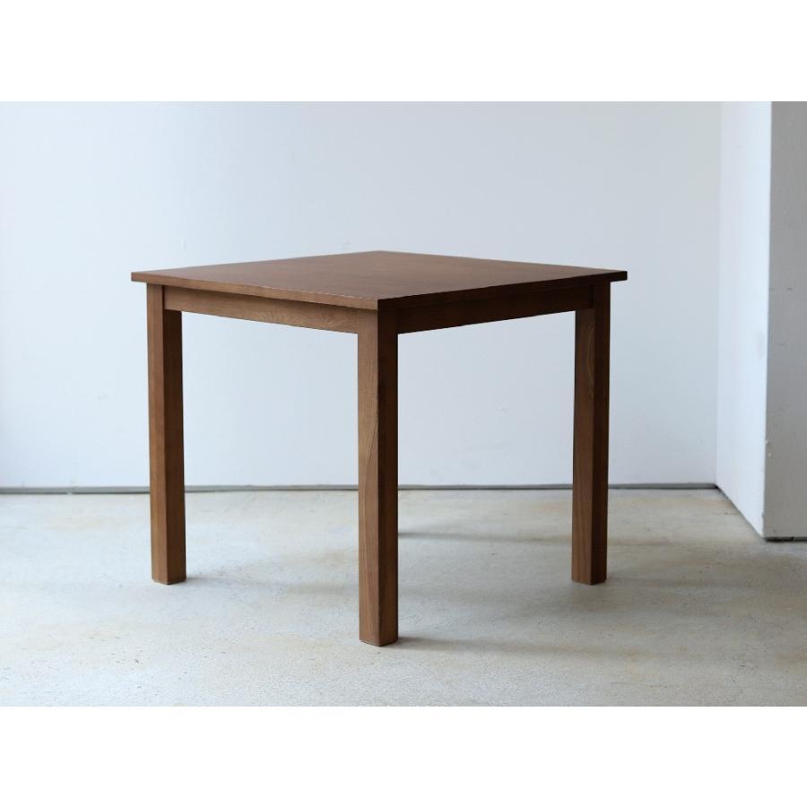 ダイニングテーブル アウトレット セール W800 80cm 2名用 ナチュラル ウォールナット アッシュ 木製 novo series ノヴォシリーズ|3244p|18