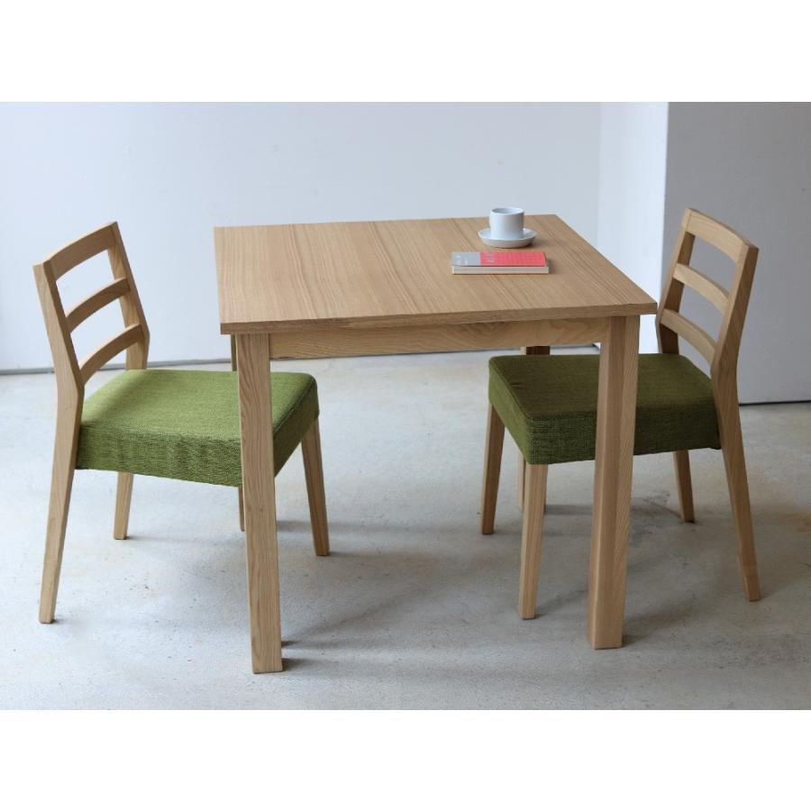 ダイニングテーブル アウトレット セール W800 80cm 2名用 ナチュラル ウォールナット アッシュ 木製 novo series ノヴォシリーズ|3244p|03